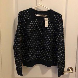 Abercrombie cotton sweater size M